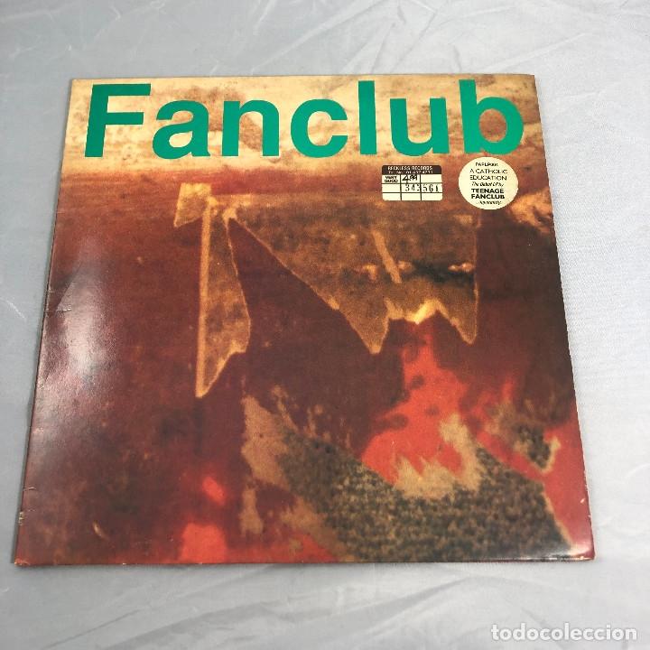 DISCO VINILO LP, FANCLUB TEENAGE. A CATHOLIC EDUCATION PRIMERA EDICION INGLESA DE 1990 (Música - Discos - LP Vinilo - Pop - Rock Extranjero de los 90 a la actualidad)