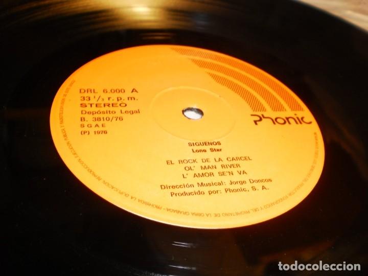 Discos de vinilo: lp lone star. ¡¡Síguenos!! phonic 1976 spain carpeta doble (disco probado y bien) - Foto 4 - 174170383