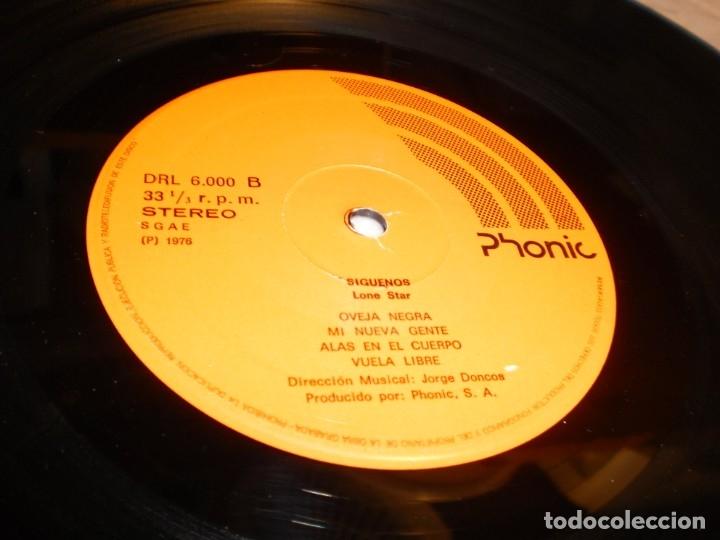 Discos de vinilo: lp lone star. ¡¡Síguenos!! phonic 1976 spain carpeta doble (disco probado y bien) - Foto 5 - 174170383