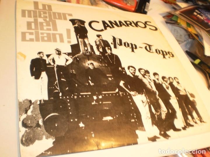 LP LO MEJOR DEL CLAN. LOS CANARIOS. POP-TOPS. SONO PLAY 1968 SPAIN (DISCO PROBADO Y BIEN) (Música - Discos - LP Vinilo - Grupos Españoles 50 y 60)