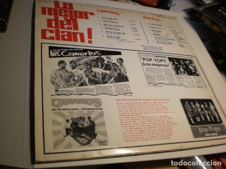 Discos de vinilo: lp lo mejor del clan. los canarios. pop-tops. sono play 1968 spain (disco probado y bien) - Foto 2 - 174170768