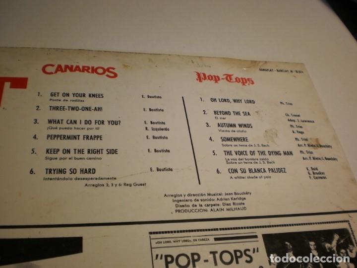 Discos de vinilo: lp lo mejor del clan. los canarios. pop-tops. sono play 1968 spain (disco probado y bien) - Foto 3 - 174170768