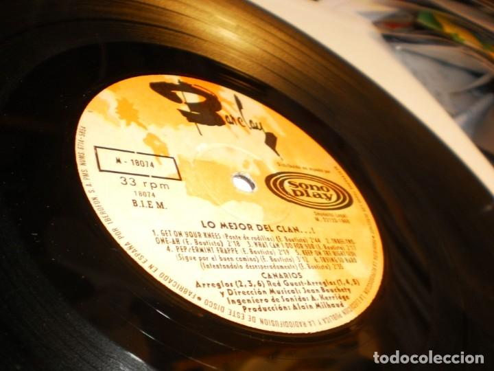 Discos de vinilo: lp lo mejor del clan. los canarios. pop-tops. sono play 1968 spain (disco probado y bien) - Foto 4 - 174170768