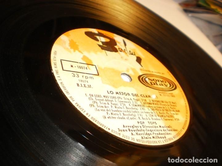 Discos de vinilo: lp lo mejor del clan. los canarios. pop-tops. sono play 1968 spain (disco probado y bien) - Foto 5 - 174170768