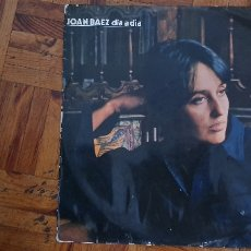 Discos de vinilo: JOAN BAEZ – DIA A DIA SELLO: VANGUARD – HVAS 471-15 FORMATO: VINYL, LP, ALBUM PAÍS: SPAIN . Lote 174179117