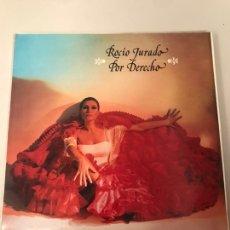 Discos de vinilo: ROCIÓ JURADO POR DERECHO. Lote 174179450