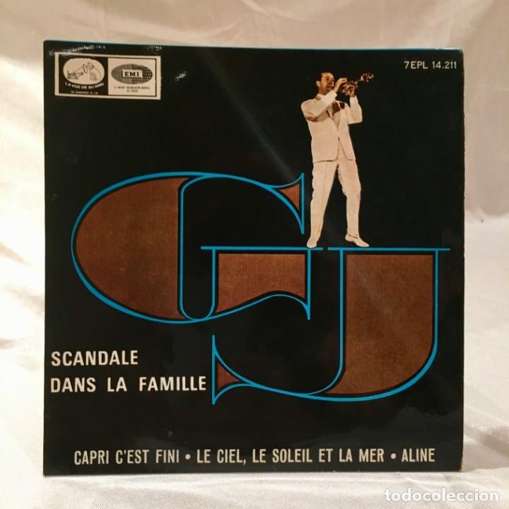 GEORGES JOUVIN VINILO 45 RPM SCANDALE DANS LA FAMILLE (Música - Discos - Singles Vinilo - Canción Francesa e Italiana)