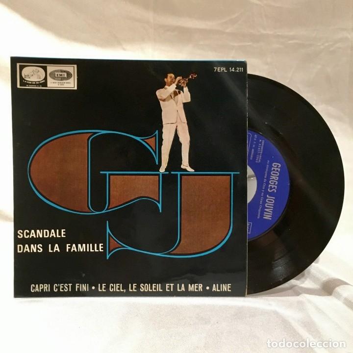 Discos de vinilo: Georges Jouvin vinilo 45 rpm Scandale dans la famille - Foto 2 - 174188099