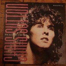 Discos de vinilo: CHRIS SUTTON – PRINCE OF JUSTICE FORMATO: VINYL, 12 , 45 RPM, MAXI-SINGLE FECHA: 1986 . Lote 174188170