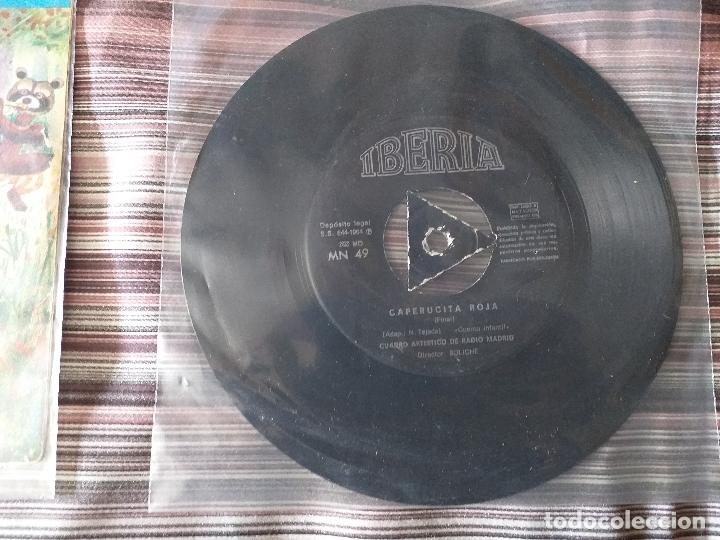 Discos de vinilo: LOTE COLECCIÓN 23 CUENTOS VINILO EP 45 RPM WALT DISNEY PATITO FEO PINOCHO PITUFOS VER FOTOS - Foto 8 - 174188387
