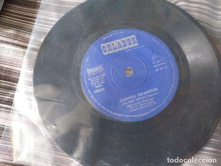 Discos de vinilo: LOTE COLECCIÓN 23 CUENTOS VINILO EP 45 RPM WALT DISNEY PATITO FEO PINOCHO PITUFOS VER FOTOS - Foto 10 - 174188387