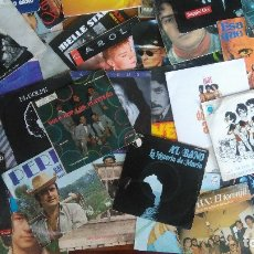Discos de vinilo: LOTE DE 160 DISCOS DE 7 PULGADAS (SINGLE). Lote 174192865