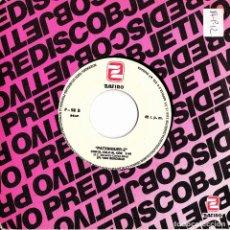 Discos de vinilo: PATXINGUER Z - CON EL CULO AL AIRE + MAURICIO VICTIMA DEL VICIO SINGLE SIN PORTADA PROMO 1984 RARO. Lote 174194468