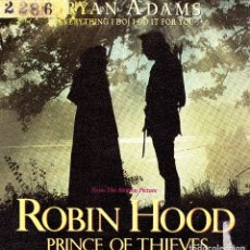 Discos de vinilo: BSO ROBIN HOOD - BRYAN ADAMS - EVERYTHING I DO I DO IT FOR YOU + SHE'S ONLY HAPPY SINGLE 1991 SPAIN . Lote 174194762