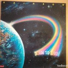 Discos de vinilo: RAINBOW - DOWN TO EARTH (LP) 1979. Lote 174198582