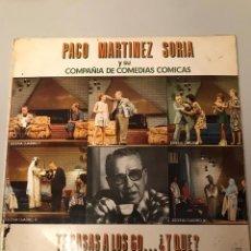 Discos de vinilo: PACO MARTÍNEZ SORIA. Lote 174207647