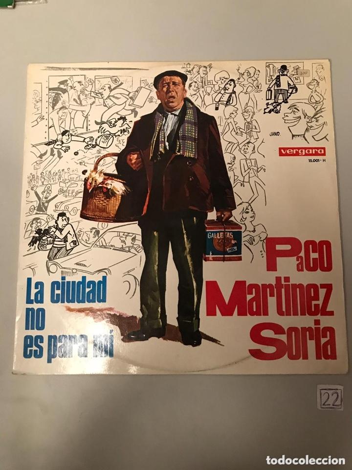 PACO MARTÍNEZ SORIA (Música - Discos - LP Vinilo - Otros estilos)