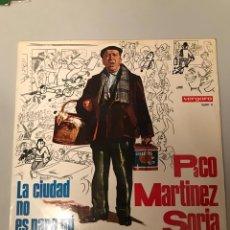 Discos de vinilo: PACO MARTÍNEZ SORIA. Lote 174208152