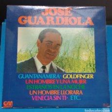Discos de vinilo: JOSE GUARDIOLA - JOSE GUARDIOLA. Lote 174222427