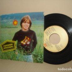 Discos de vinilo: LUIS MIGUEL -UN SOL 1+1-2 ENAMORADOS- LO QUE ME GUSTA - 1982- EMI ODEON- BCN . Lote 174222885