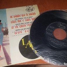 Dischi in vinile: LAURA, HE SABIDO QUE TE AMO + 3 CANCIONES, MERCURY, MADRID 1964. Lote 174227512