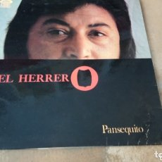 Discos de vinilo: PANSEQUITO - EL HERRERO. LP VINILO. Lote 174228078