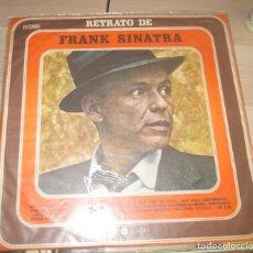 Discos de vinilo: RETRATO DE FRANK SINATRA - RECOPILATORIO URUGUAYO DE 1974 -MUY RARO. Lote 174235830