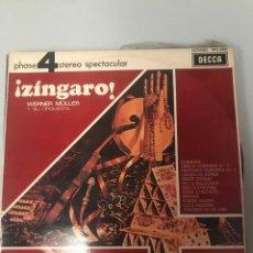 Discos de vinilo: EL ZÍNGARO. Lote 174236090