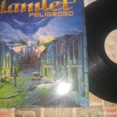 Discos de vinilo: HAMLET, PELIGROSO -(1992 DRO) +ENCARTE OG ESPAÑA. Lote 174239415