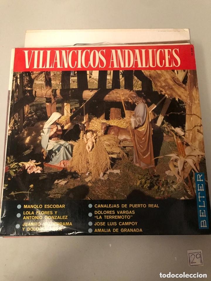 VILLANCICOS ANDALUZES (Música - Discos - LP Vinilo - Bandas Sonoras y Música de Actores )