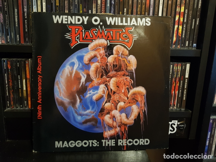 WENDY O. WILLIAMS / PLASMATICS - MAGGOTS: THE RECORD (Música - Discos - LP Vinilo - Heavy - Metal)
