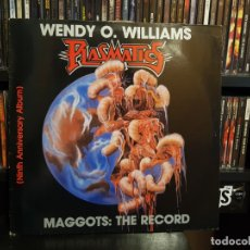 Discos de vinilo: WENDY O. WILLIAMS / PLASMATICS - MAGGOTS: THE RECORD. Lote 174251382