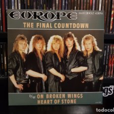 Discos de vinilo: EUROPE - THE FINAL COUNTDOWN. Lote 174253523