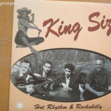 Discos de vinilo: THE KING SIZE HOT RHYTHM & ROCKABILLY EP. Lote 174255192