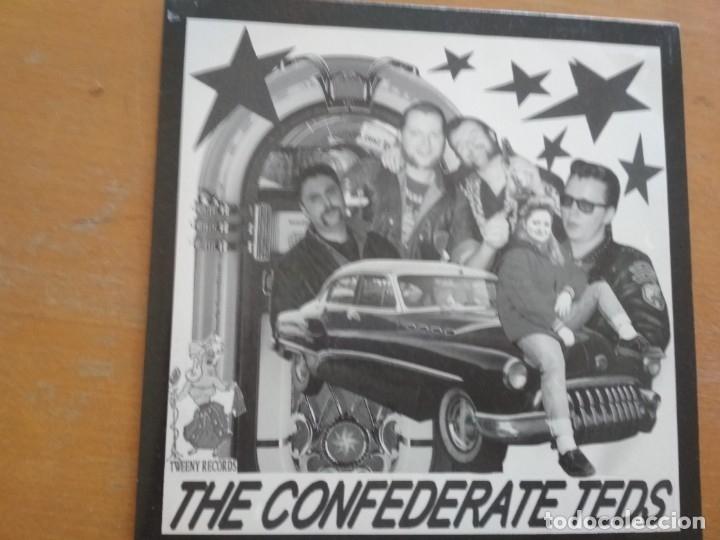 THE CONFEDERATE TEDS THE CONFEDERATE TEDS EP ROCKABILLY (Música - Discos de Vinilo - EPs - Rock & Roll)