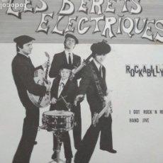 Discos de vinilo: LES BÉRETS ELECTRIQUES ROCKABILLY SINGLE. Lote 174256228