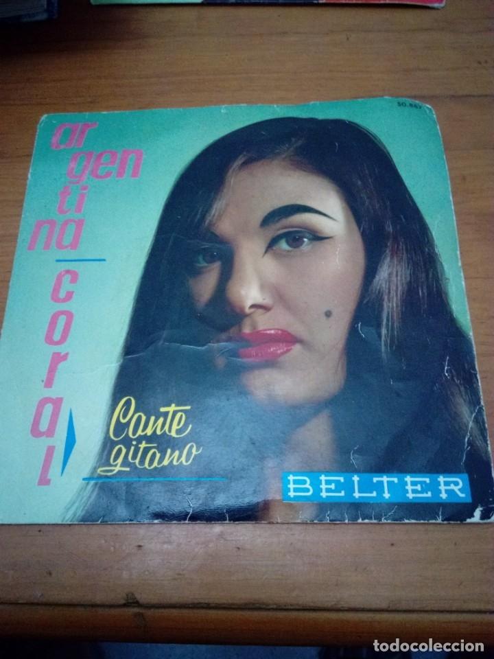 ARGENTINA CORAL CANTE GITANO. MB3 (Música - Discos de Vinilo - EPs - Flamenco, Canción española y Cuplé)