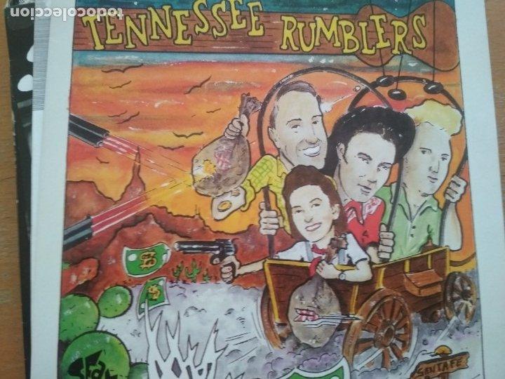 TENNESSEE RUMBLERS DOWN IN TEXAS HEADIN SOUTH / FIREBALL MAIL / GOTTA BE MY BABY SINGLE ROCKABILLY (Música - Discos de Vinilo - EPs - Rock & Roll)