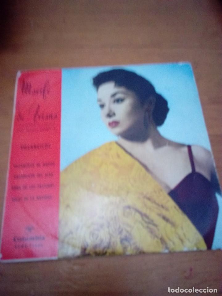 MARIFE DE TRIANA. VILLANCICOS. VILLANCICOS DE MARIFE. VILLANCICOS DEL ALBA... MB3 (Música - Discos de Vinilo - EPs - Flamenco, Canción española y Cuplé)