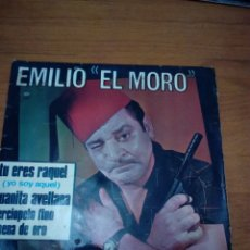 Discos de vinilo: EMILIO EL MORO. TU ERES RAQUEL. JUANITA AVELLANA. ..MB3. Lote 174259827