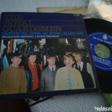 Discos de vinilo: THE ROYAL GUARDSMEN SINGLE CANCIÓN DEL AVIÓN ESPAÑA 1967. Lote 174260950