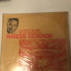 Discos de vinilo: MARCOS REDONDO. Lote 174262033