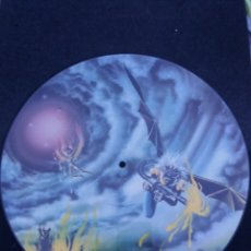 Discos de vinilo: IRON MAIDEN PICTURE DISC LIGHT OF ICARUS. Lote 174262363