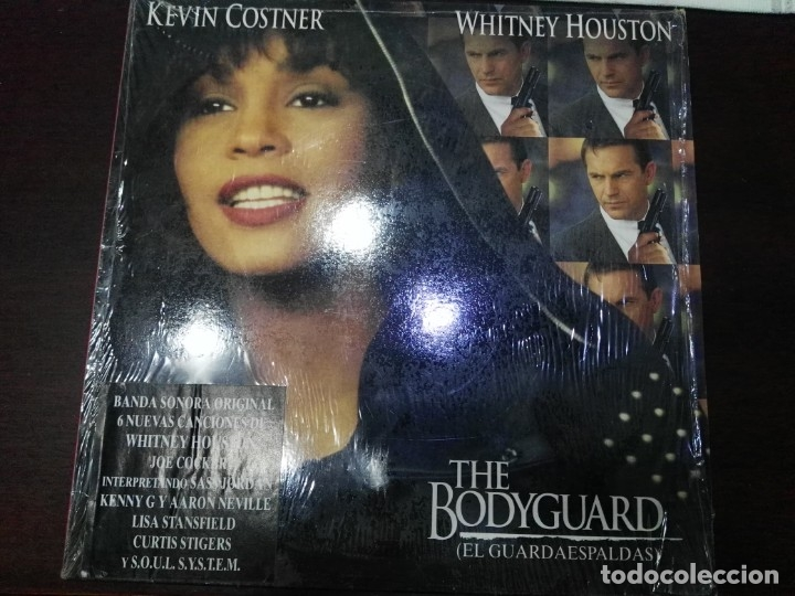 WHITNEY HOUSTON - THE BODYGUARD (EL GUARDAESPALDAS) LP ARISTA 1992 (Música - Discos - LP Vinilo - Bandas Sonoras y Música de Actores )