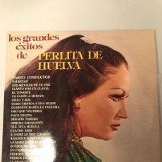 Discos de vinilo: PERLITA DE HUELVA. Lote 174268030