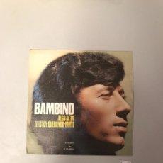 Discos de vinilo: BAMBINO. Lote 174271157