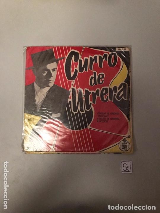CURRO DE UTRERA (Música - Discos - Singles Vinilo - Flamenco, Canción española y Cuplé)