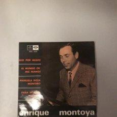 Discos de vinilo: ENRIQUE MONTOYA. Lote 174271364