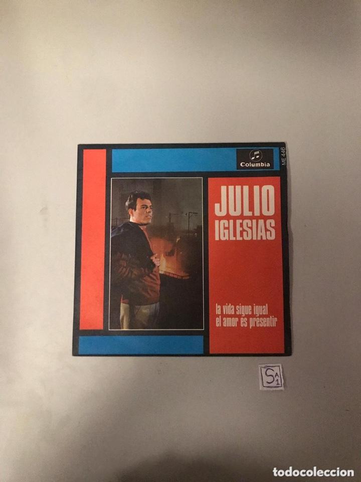 JULIO IGLESIAS (Música - Discos - Singles Vinilo - Flamenco, Canción española y Cuplé)