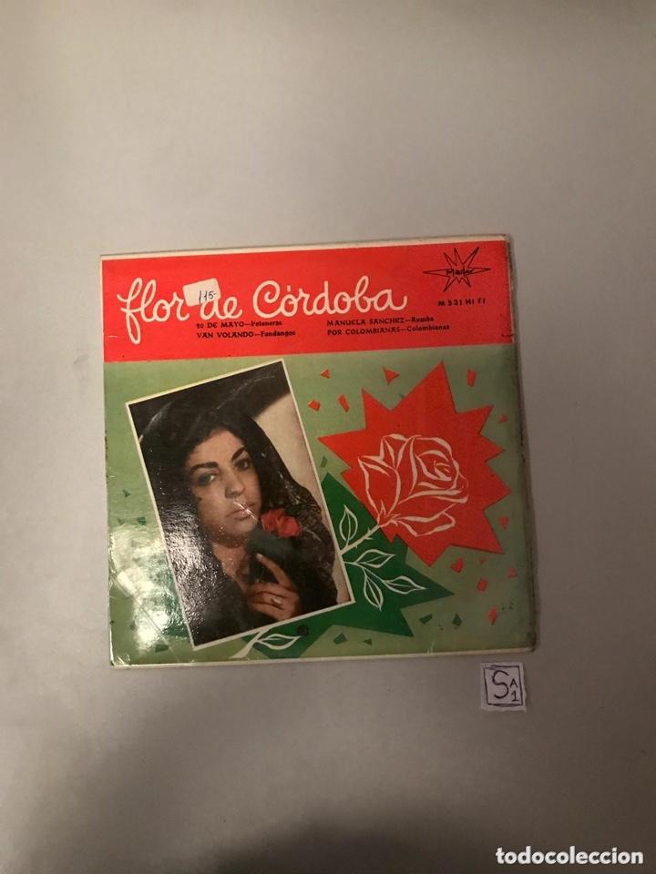 FLOR DE CÓRDOBA (Música - Discos - Singles Vinilo - Flamenco, Canción española y Cuplé)